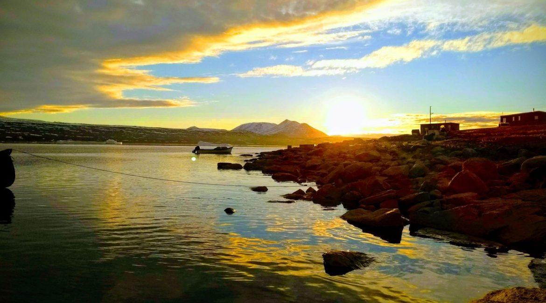 Sunset Scenery in Qikiqtarjuaq
