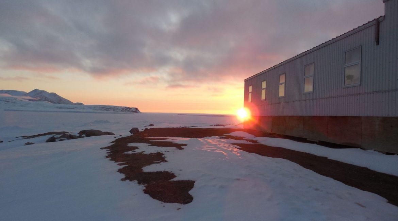 Hotel Building Outdoor View in Qikiqtarjuaq