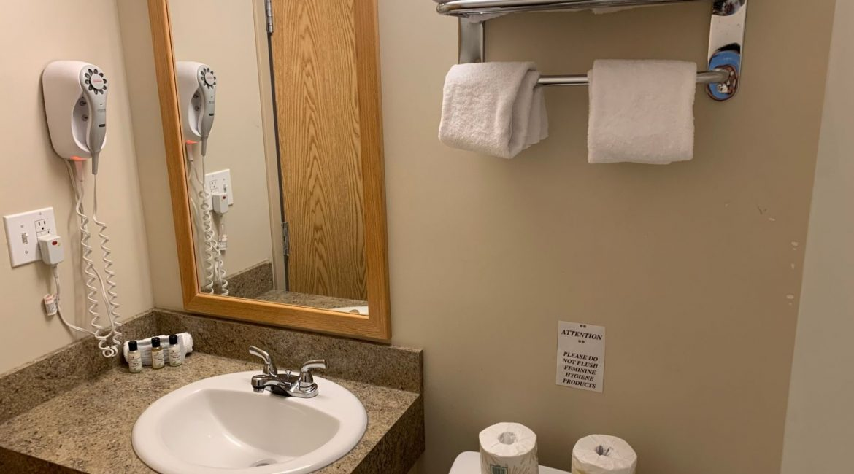 Hotel Bathroom in Naujaat