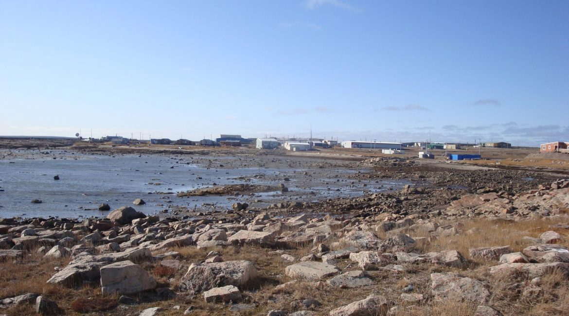 Outdoor View in Chesterfield Inlet