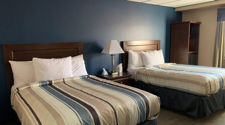 Beds in Naujaat Hotel