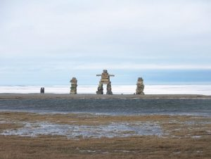 Outdoors in Igloolik