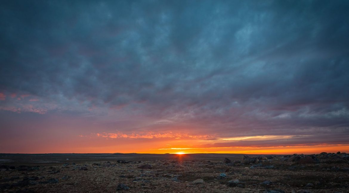 Cambridge Bay Sunset
